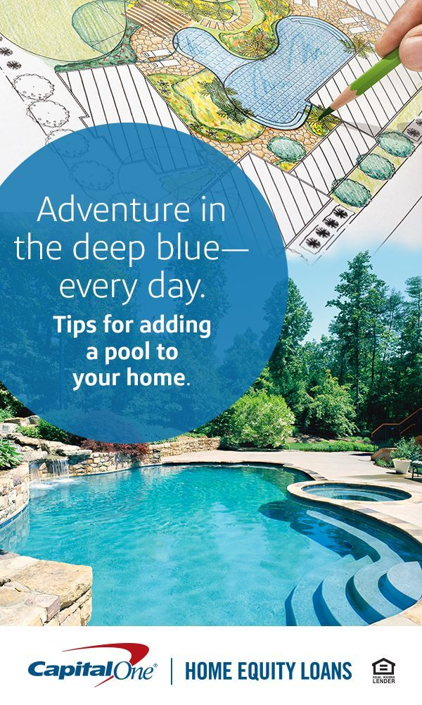 If You Re Thinking Of Adding A Splashy Centerpiece To Your Backyard There Are Some Things You Should Consider Before Yo Backyard Pool Pool Houses Outdoor Pool