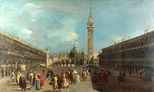 Venice - Piazza San Marco Francesco Guardi