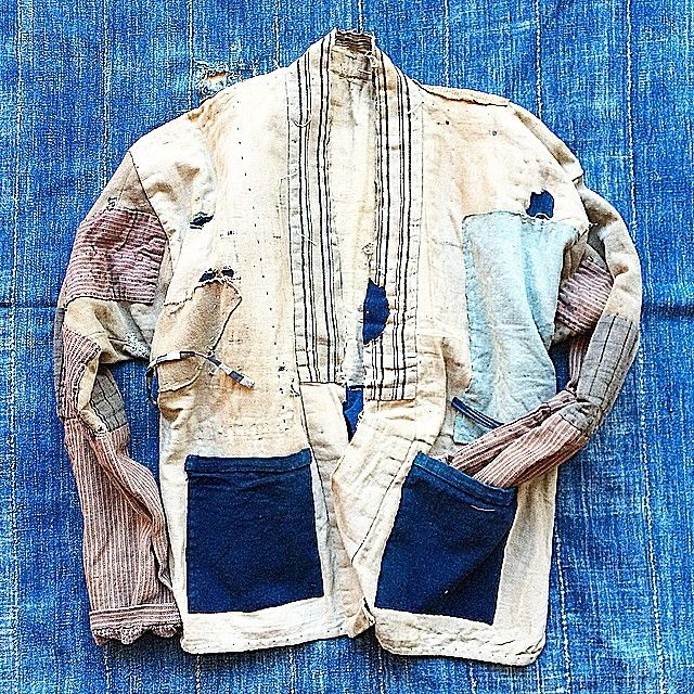 Boro / Jacket / Patched And Repaired / Mending