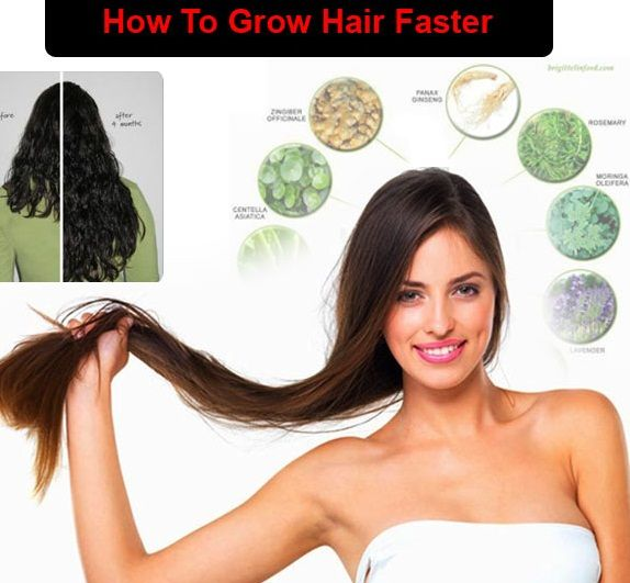 How To Grow Your Hair Faster With Top Homemade Remedies ...
