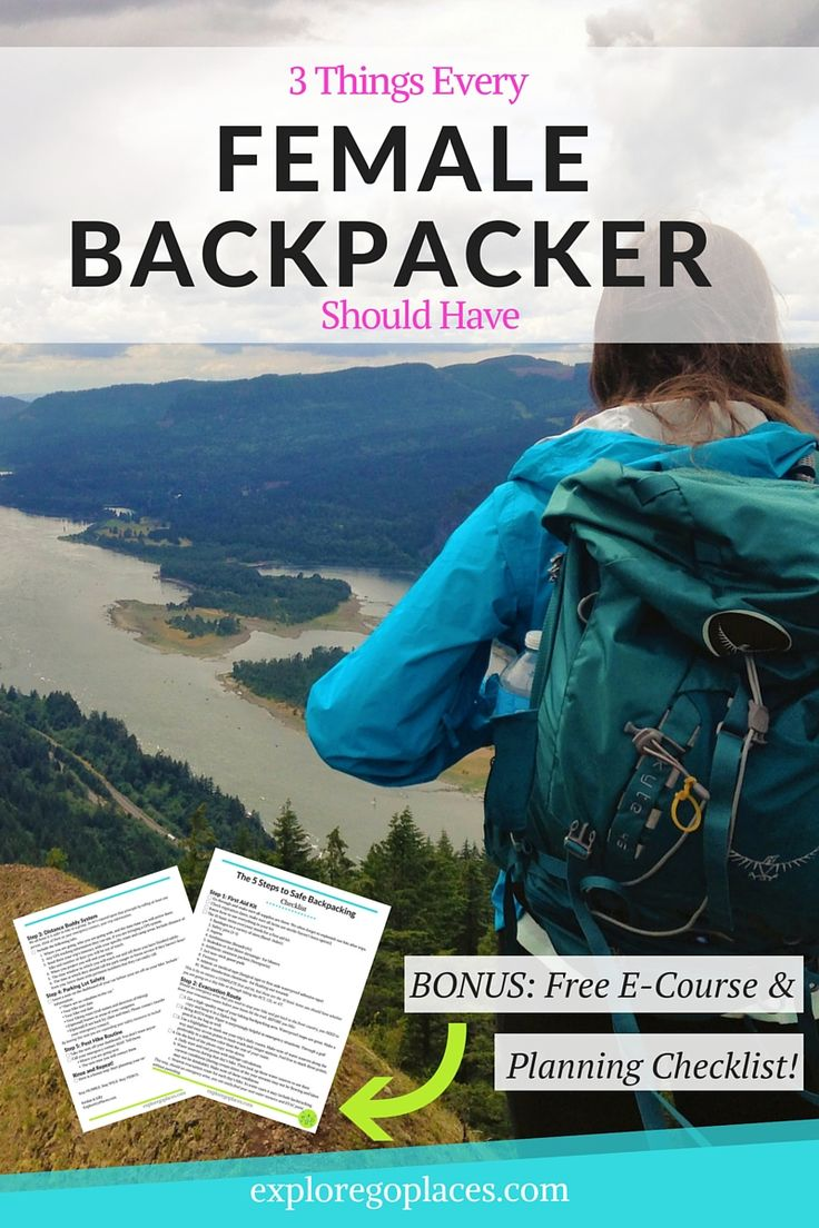 Are you a female traveler looking to start backpacking? Check out these 3 things women backpackers must have>>> Click through to find out and gain access to free trip planning checklists!