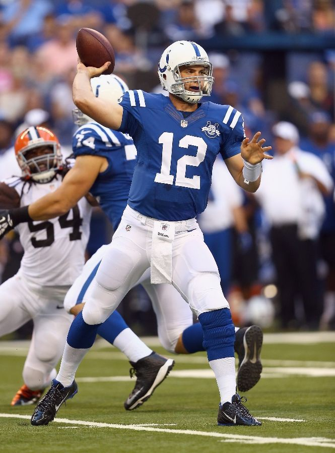 Andrew Luck Pictures - Indianapolis Colts - ESPN