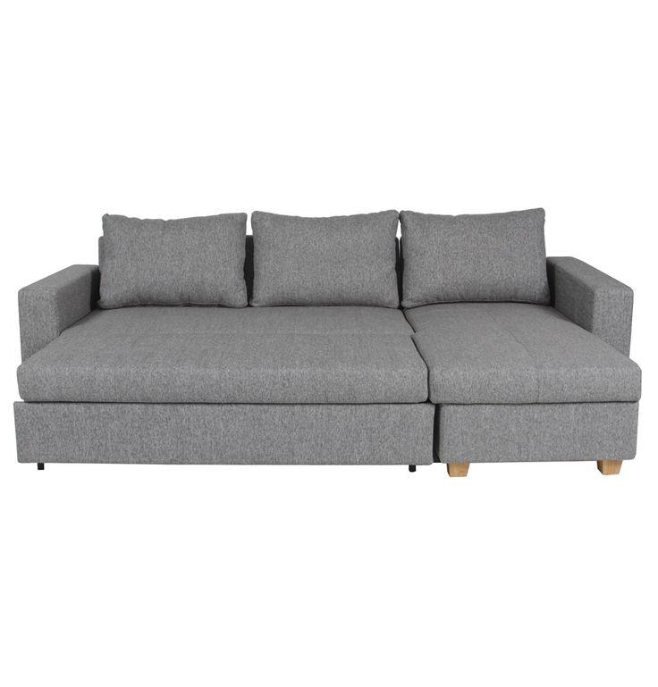 Venturi Chaise Sofa Bed - Matt Blatt
