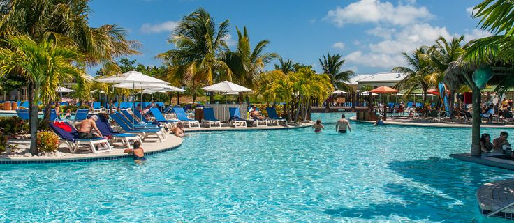 Pool at the Grand Turk Cruise Center, Grand Turk, Turks and Caicos Islands.