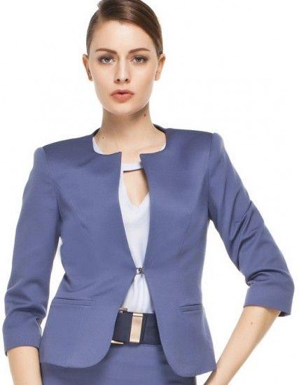 Yakasiz Ceket Modelleri Moda Kiyafet Model