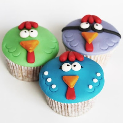 Galinha pintadinha Cupcakes
