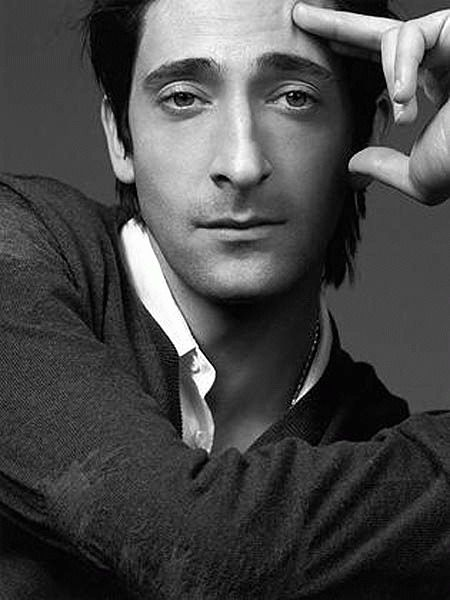 Adrien Brody... don't know why I think he's so frickin' sexy...