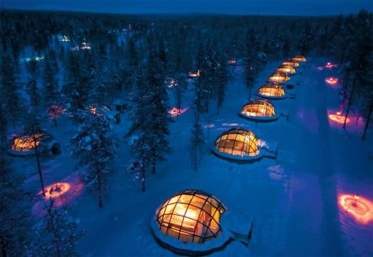 Kakslauttanen Igloo Village in Finland