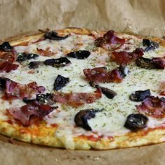 Enkel och supergod blomkålspizza