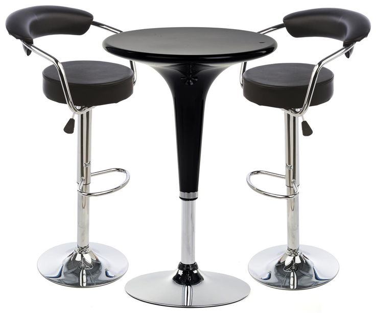 Pub Set with 1 Round Cocktail Table 2 Adjustable Leatherette Stools - Black  sc 1 st  Pinterest & 20 best Portable Bars for Trade Shows Tailgating u0026 Banquets ... islam-shia.org