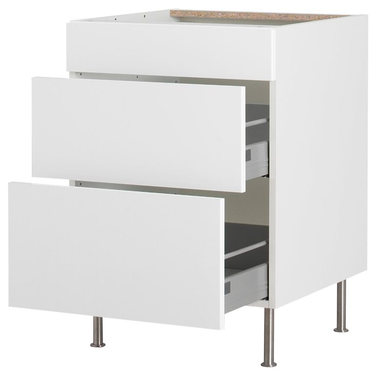 AKURUM Base Cabinet With 3 Drawers