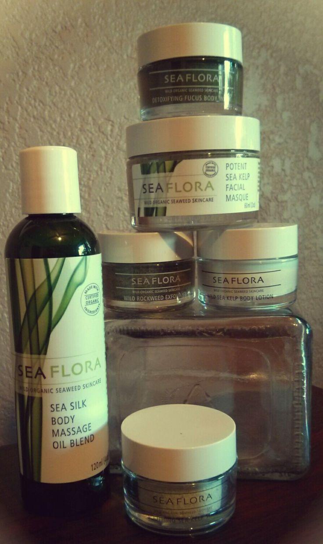 We love Seaflora Seaweed Skincare!