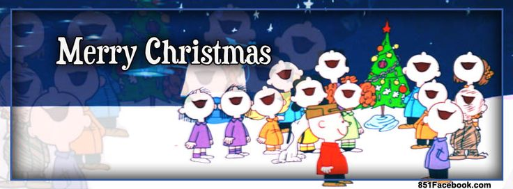 Peanuts Charlie Brown Snoopy Christmas Facebook Covers