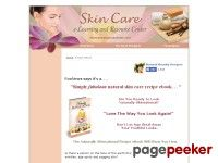 Recipe eBook - Natural Anti-Aging Skin Care