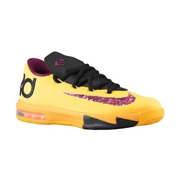 Nike KD VI Boys' Grade School ❤ liked on Polyvore featuring sneakers and shoes