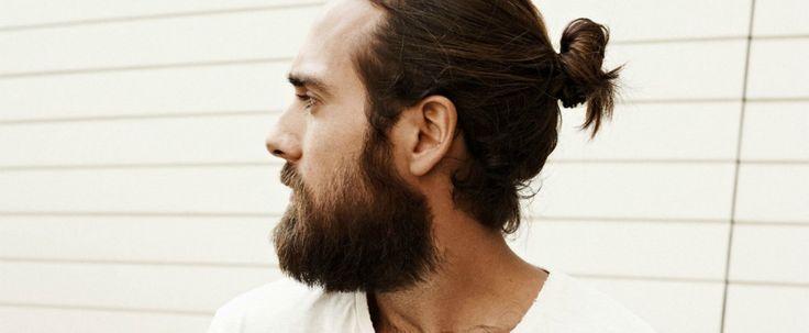 lang haar met knot