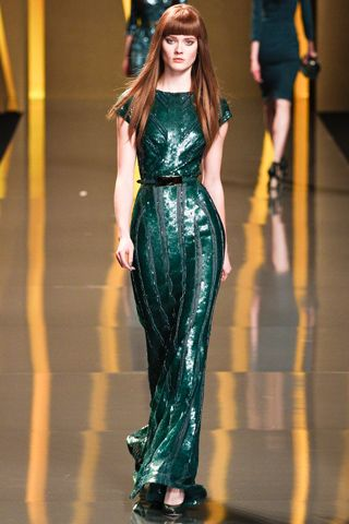 Elie SaabElie Saab Fall, Paris Fashion, Fashion Weeks, Eliesaab, Ellie Will Be, Gowns, Fall 2012, Haute Couture, Green Dresses