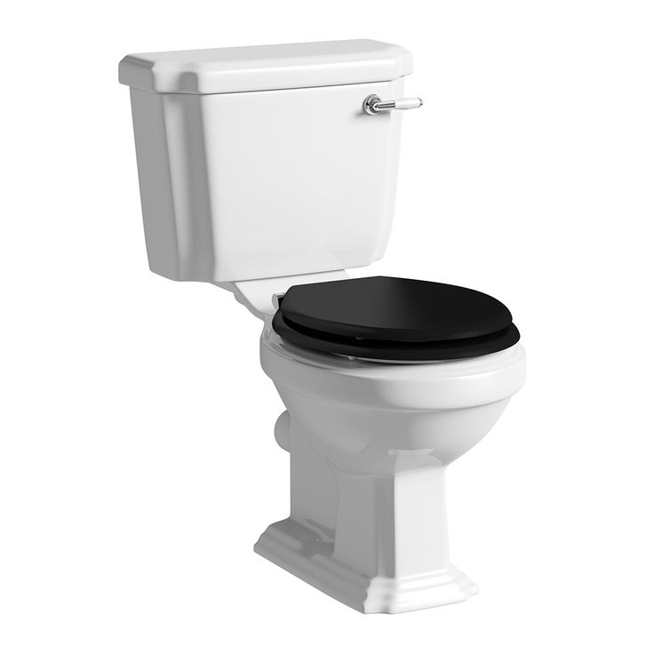 Black Square Toilet Seat Aqua One Piece Dual Flush Square Black