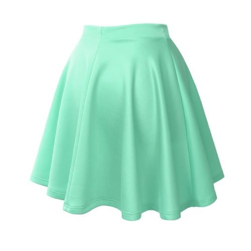Back to School Outfits for Teens - Mint flare skirt