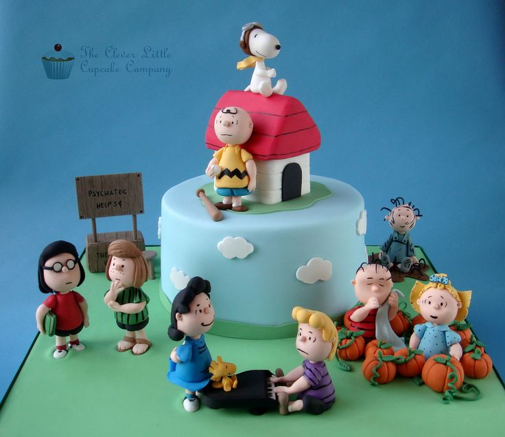 Peanuts Character Cake | by The Clever Little Cupcake Company