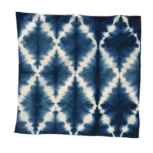 Gitter String #shibori #tiedye #pattern #folding #lattice
