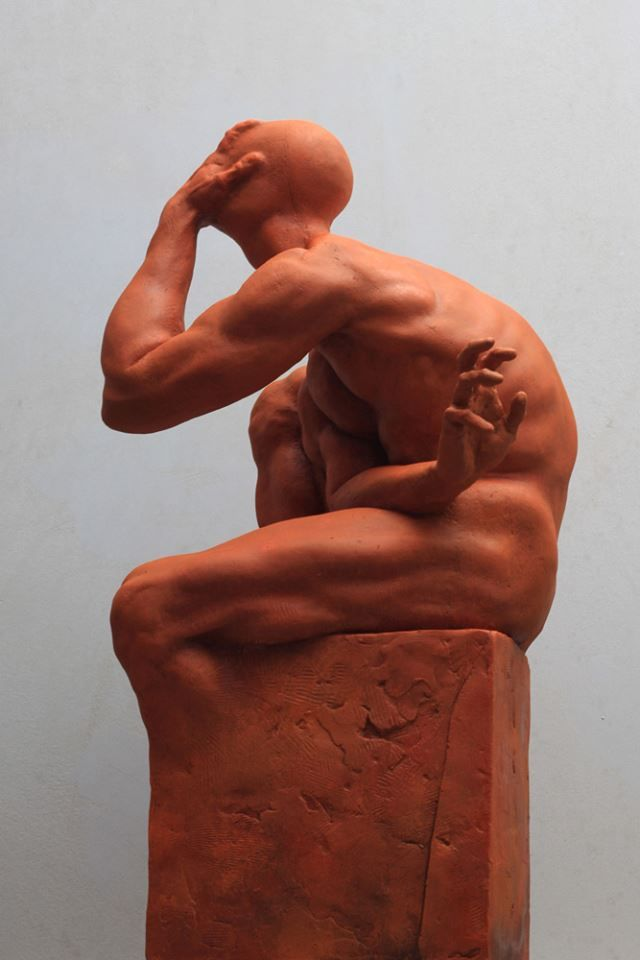 CAIN by Dominik Wdowski. 2016. #sculpture #figurative #body #art #contemporary #artist #sculptor #dominikwdowski