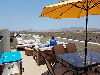 Cabo Del Mar~ Breathtaking Views Of The Sea Of Cortez From The Rooftop Patio!!