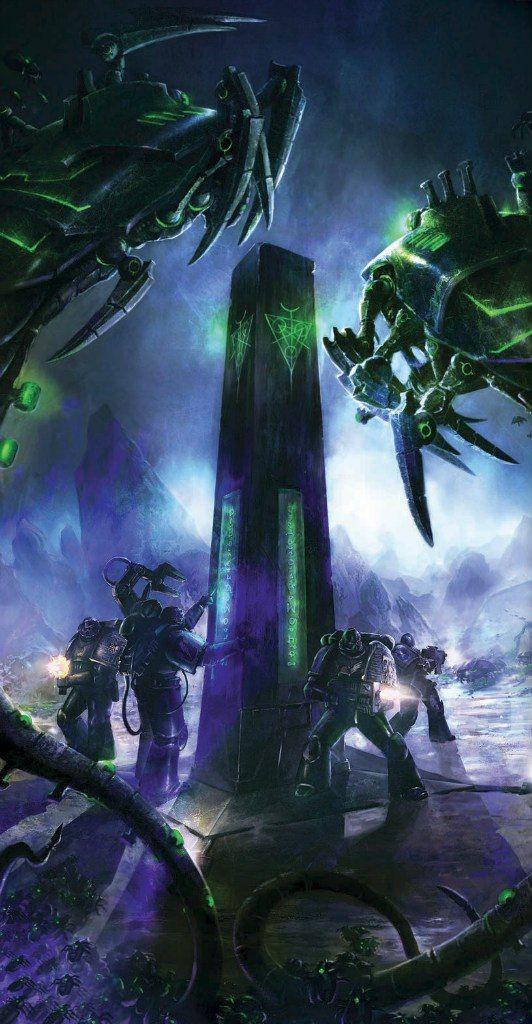 Warhammer 40000,warhammer40000, warhammer40k, warhammer 40k, ваха, сорокотысячник,фэндомы,art,арт,красивые картинки,Imperium,Империум,death watch,Necrons
