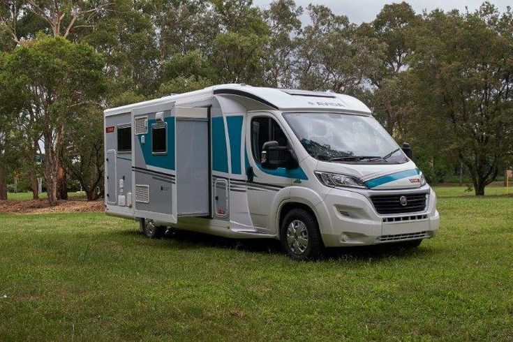 Sleek, isn't it? The Eyre is the lowest profile motorhome in Australia that features a slideout motorhome. It is built on the low profile Fiat AL-KO galvanised chassis.