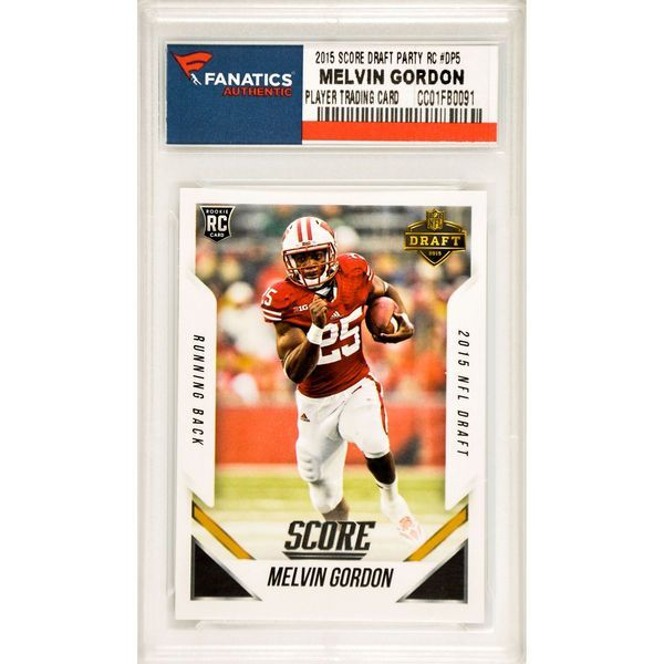 Melvin Gordon Wisconsin Badgers 2015 Score NFL Draft Rookie #DP-5 Card- Exclusive to the NFL Draft Party - $19.99