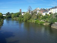Tiverton Devonshire England.  Visited with Brian in 1991.