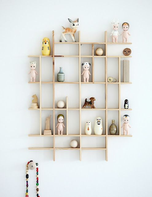 Mokkasin shelves: Idea, Doll, Sonny Angel, Wall Shelves, Baby, Wall Display, Display Shelves, Diy, Kids Rooms