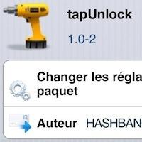 Déverrouiller votre iPhone d'un clic avec le tweak TapUnlock - http://www.applophile.fr/deverrouiller-votre-iphone-dun-clic-avec-le-tweak-tapunlock/