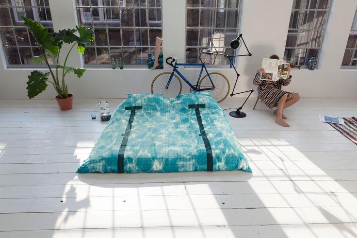 pościel pool 200x 220cm z wysokiej jakości bawełny perkalowej