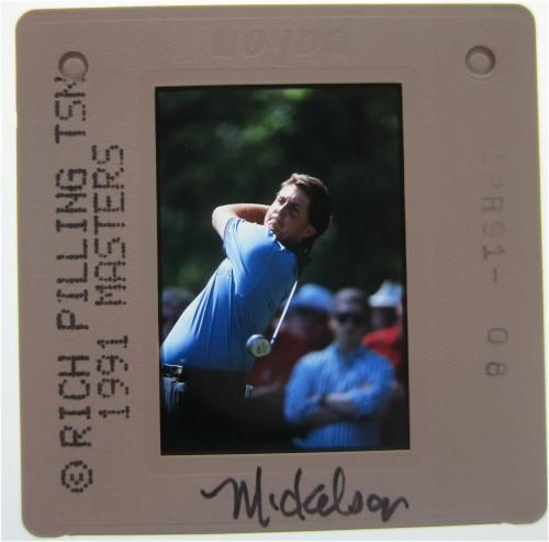 PHIL MICKELSON PGA MASTERS US BRITISH OPEN  51 WINS 5 MAJORS ORIGINAL SLIDE 7