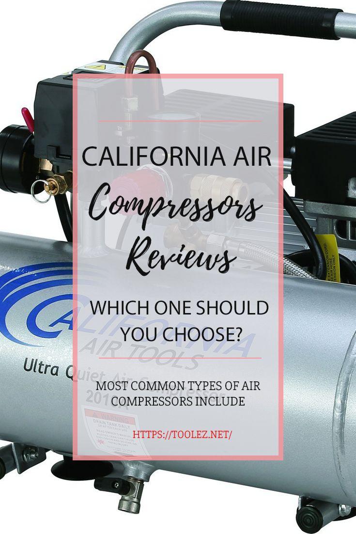 Top 5 Ultra Quiet California Air Compressors Reviews 2019