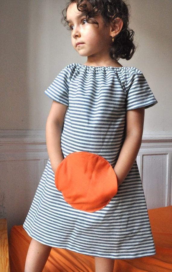 Ähnliche Artikel wie Magische Tasche Kleid - Sommer Stil-0 / 6m, 6 t auf Etsy