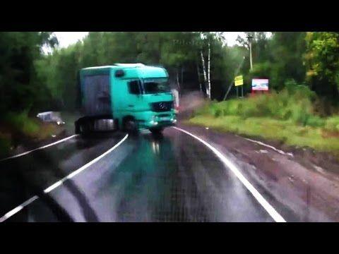 Бешенные грузовики (18+)