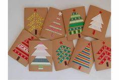 Manualitats de Nadal: felicitacions de Nadal   tot nens