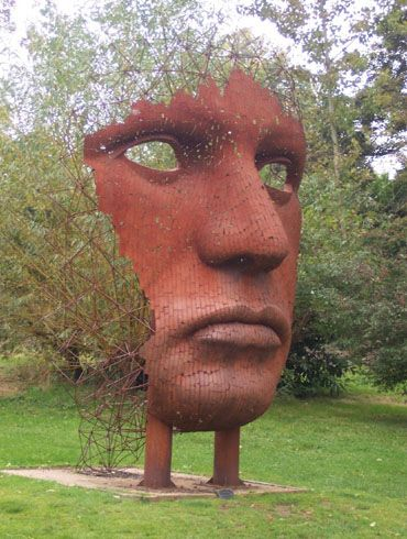Burghley House Sculpture Gardens, Stamford, UK