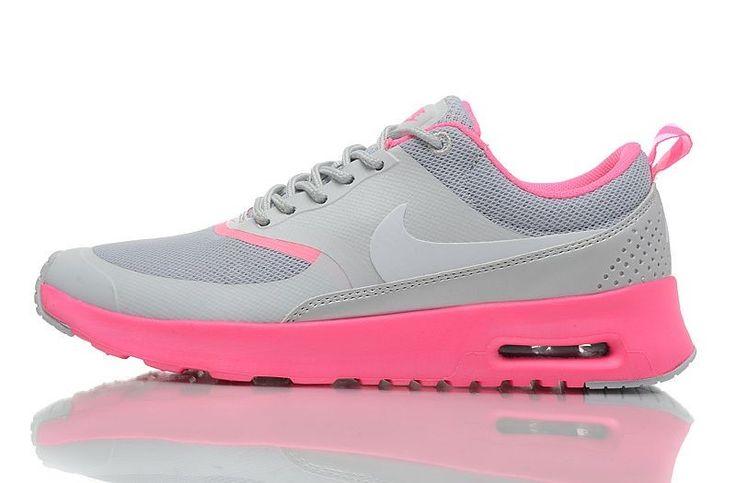 Nike Air Max Thea Damen Sneakers - Grau/Pink