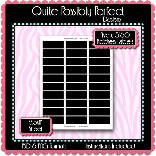 10ml Roll-On Perfume Bottle Label Template Instant Download PSD - labeltemplate