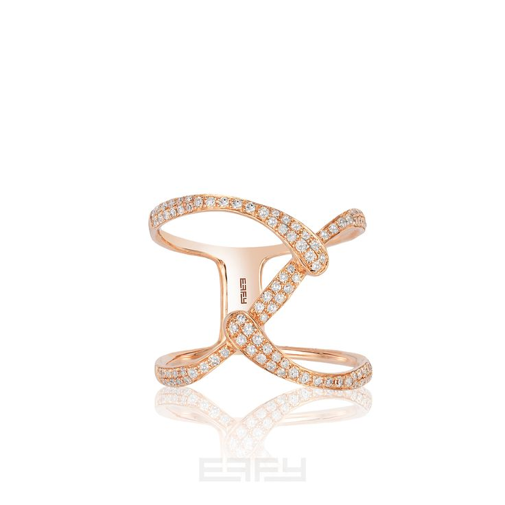 And Best-Dressed goes to... Shop EFFY diamonds > http://www.effyjewelry.com/collections/diamonds/effy-pave-rose-14k-rose-gold-diamond-ring-0-37-tcw.html