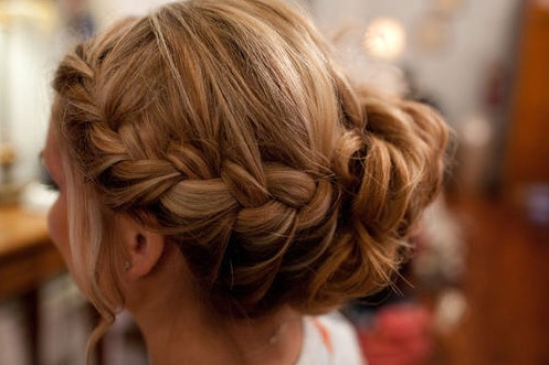 <3 braided side bun <3