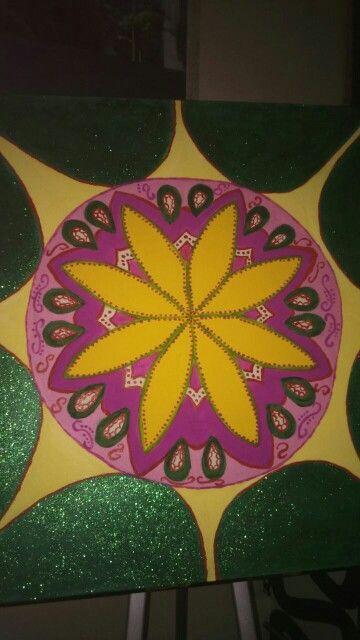 Mandala art Working in progress