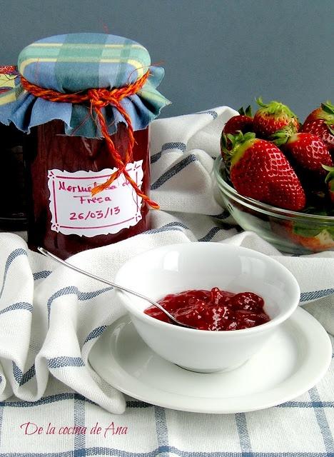 ...de la cocina de Ana: Mermelada de Fresa (Thermomix, Tradicional)