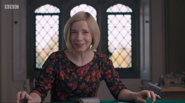 The Fabulously Flawless Dr. Lucy Worsley.