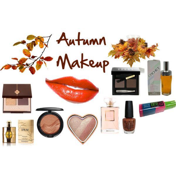 """""""Autumn Makeup"""" by expressingyourtruth on Polyvore"""