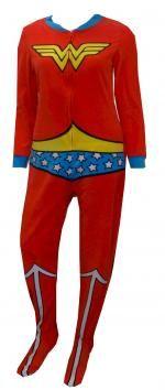 DC Comics Wonder Woman Fleece Onesie Footie Pajama