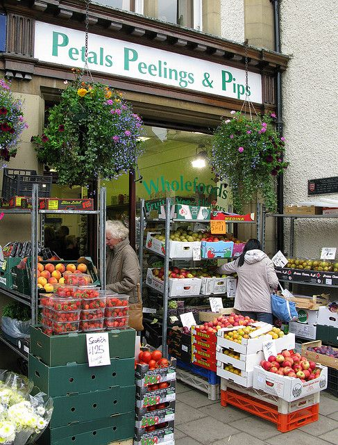 Petals, Peelings & Pips - Peebles, Scotland
